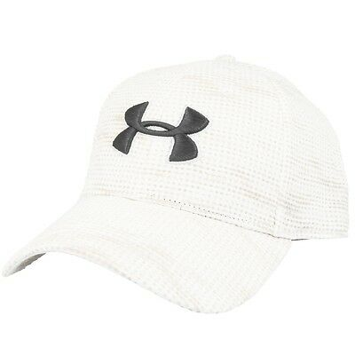Under Armour Print Blitzing Stretch Fit Basecap Kappe white gray 1273197-102 Cap