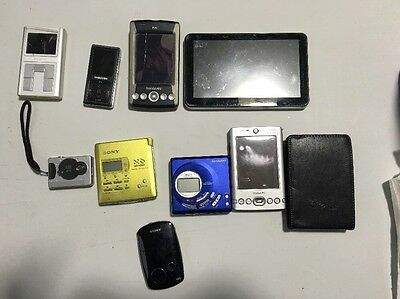 Joblot Of Electronics I.e Sony Walkman, Dell Pocket Pc Etc Spares Or Repairs