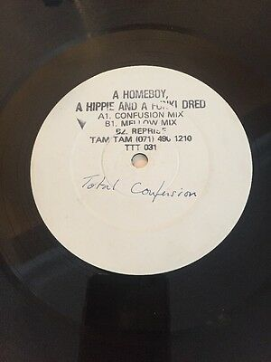 """A Homeboy A Hippie And A Funki Dred - Total Confusion Orig 12"""" Promo Vg+ 1990"""