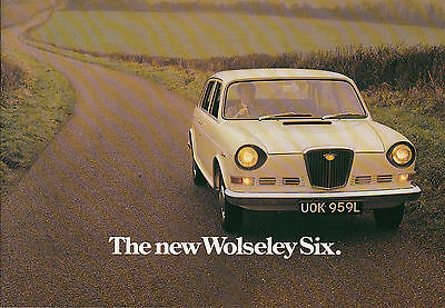 THE NEW WOLSELEY SIX BROCHURE, DATED 9/72, PUBLICATION No.2905/B.