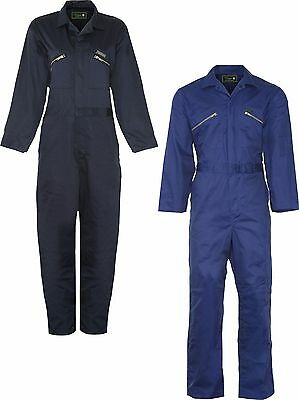 Champion Heavy Duty Stud Front Fastening Boilersuit with Internal Knee Pouches
