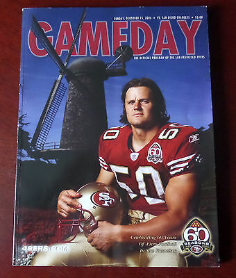 San Francisco 49Ers Vs Chargers Gameday Magazine Programme 2006