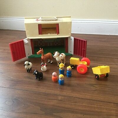 "♥   VINTAGE Fisher Price #2501 ""Little People Farm'"" aus 1986   ♥"