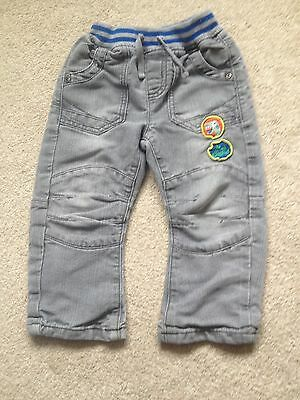 Bluezoo 2-3 Years Boys Grey Jeans