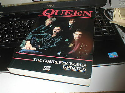 Queen The Complete Works 1985 290 Page Songbook. Sheet Music