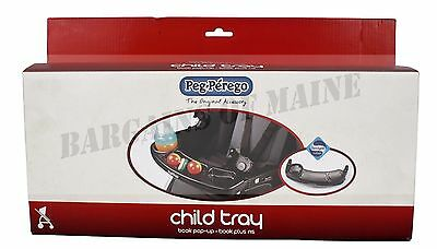 Peg Perego Child Tray for Book, Book Pop-Up, Book Plus NS Stroller NEW in Box