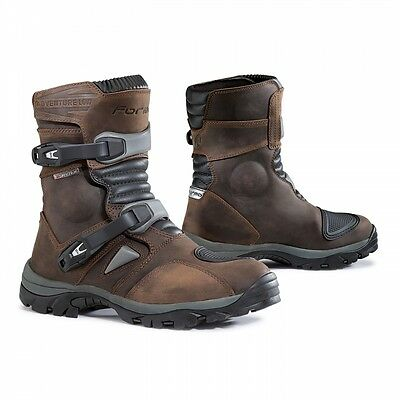 Stivale Moto Atv Quad Enduro Motorcycle Boots Forma Adventure Brown Low*