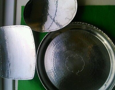 3 Borrowdale L R I Stainless Steel Tray And 2 Dishes