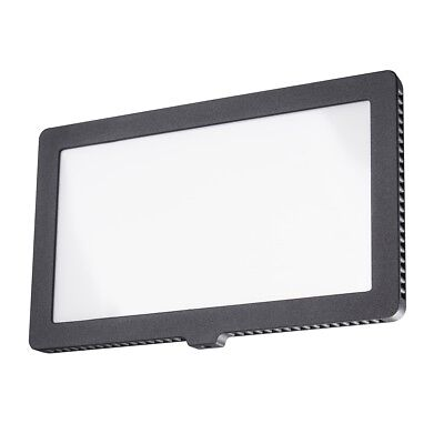 walimex pro Soft LED 200 Square Daylight, professionelles LED Foto- / Videolicht