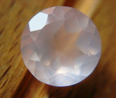 ROSENQUARZ  -  ROUND FACET  -  10 mm  -  3,47 ct.