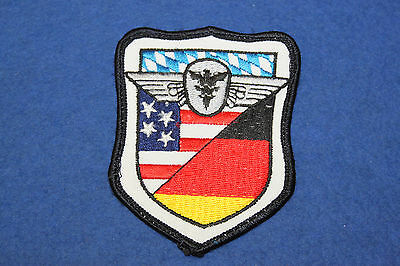 S5191: Aufnäher Patch Luftwaffe Airforce  7,2x9cm
