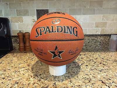 Official Spalding 2015 NBA New York All Star Game Ball Leather Basketball