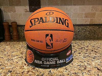 Spalding 2006 Cross Traxxion NBA Game Ball Leather Basketball Tony Parker Spurs