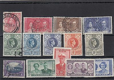 Swaziland.14 -- G5/6 Mounted Mint/used Stamps On Stockcard