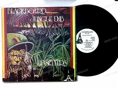 The Upsetters - Blackboard Jungle Dub US LP Reggae Dub Black White Labels //1