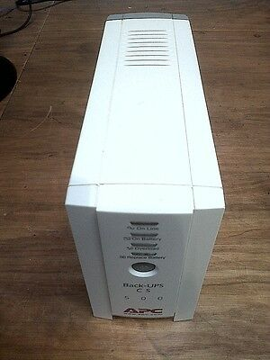 APC CS500  UPS USED BK500EI model Tested Good working condition