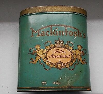 Alte Blechdose Mackintosh's Toffe Assortment John Macintosh & Sons Aachen
