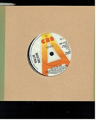 Willie Nelson Ley It Be Me 45 Promo 1982
