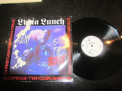 """Birthday Party / Lydia Lunch """"drunk"""" / """"agony And The Ecstasy"""" 12"""" Ep Nick Cave"""