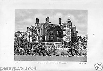 Chilham Castle House, Canterbury, Vintage View* Hudson & Kearns * Country Life