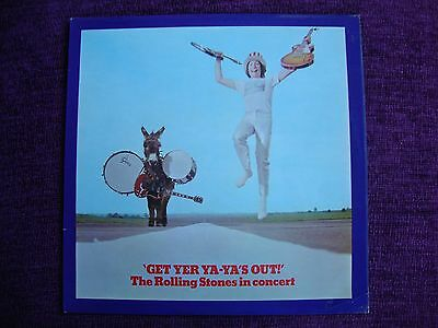 THE ROLLING STONES GET YER YA-YA'S OUT! 1970 UK 1st PRESS VERY GOOD / EXCELLENT