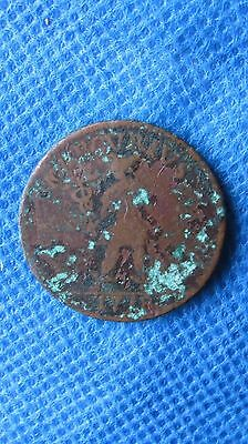 1718 Sweden 1 Daler Coin  Rare Issue & Type