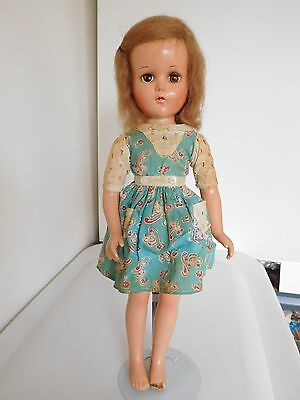 "Vintage 1940's R & B Arranbee 17"" Nancy Composition Fixer Doll Hospital"