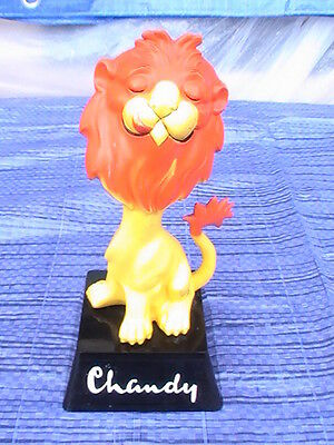 Chandy Lion Breweriana Advertising Figurine - Bar & Hotel Display Drinks Go With