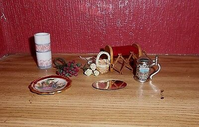 1/12th assorted lot of dolls house items-Victoria Hope Dolls