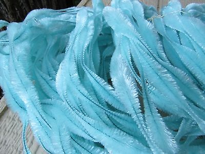 3 Vintage Jay Brand Figure Bump Chenille  18 Yards In Each  CRYSTAL BLUE