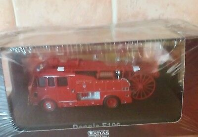 Dennis F106 Fire Engine Atlas 1/76 Scale Collectable New Sealed