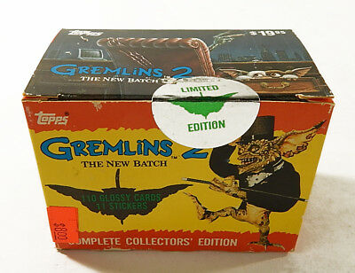 1990 Topps Gremlins 2 Limited Edition Factory Card Set (110 + 11) Nm/Mt