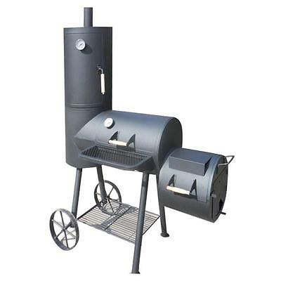 BBQ XXL Smoker Holzkohlegrill Barbecue Kaminofen Indianapolis