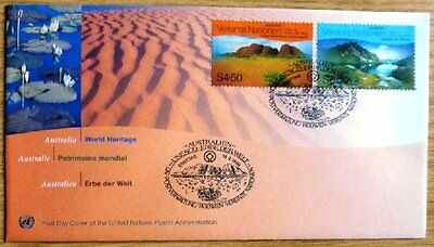 United Nations Stamp Postal History First Day Cover issued in 2000 DQ-109