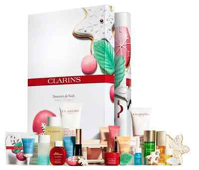 Clarins Advent Calendar 2016 Limited Edition LUXURY BEAUTY GIFTS