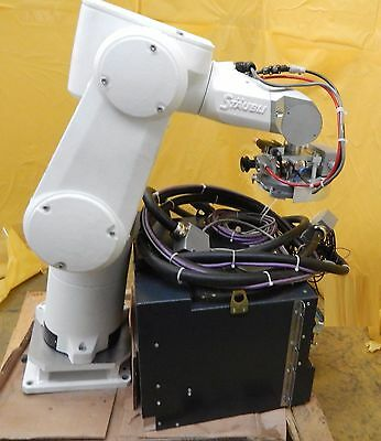 Stäubli TX60 6-Axis Industrial Robot with CS8C TX60 Controller Staubli Used