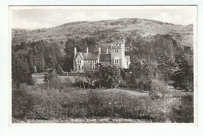 Baron's Craig Hotel Rockcliffe Kirkcudbright Real Photograph Old Postcard