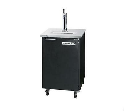 Beverage-Air DD24HC-1-B 7.8 CuFt Single Keg Direct Draw Draft Beer Cooler