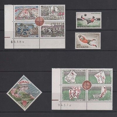 Monaco 1963 Centenary of English Football Association Near Set Mint