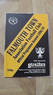 FALMOUTH TOWN v PENZANCE - South Western Lge 1996/97