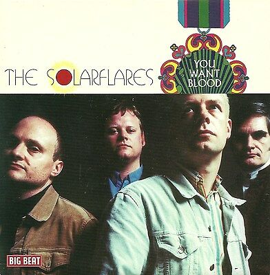 """Rare Limited Edition 7"""" THE SOLARFLARES You Want Blood  NEW / MINT THE PRISONERS"""