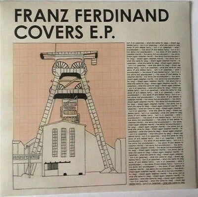 "12"" FRANZ FERDINAND Covers EP MINT / SEALED LCD SOUNDSYSTEM BLONDIE ESG PEACHES"