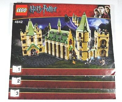 LEGO 4842 HARRY POTTER - Hogwarts Castle (4th edition) - INSTRUCTION MANUAL ONLY