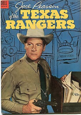 Jace Pearson Of The Texas Rangers # 7 - Cents Copy  - Scarce In Uk - 1954 Dell