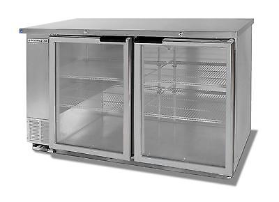 Beverage-Air 12.1cf Two Section Stainless Steel Shallow Depth Bar Cooler