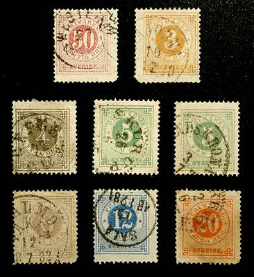 Sweden: 1872-79 Classic Era Stamp Collection