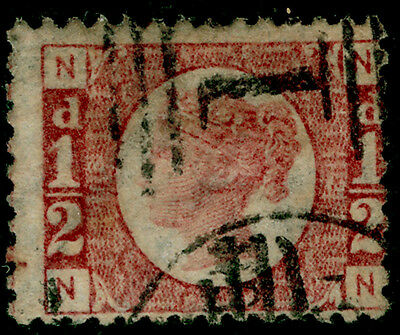 Sg48, ½d rose-red plate 13, used. Cat £22. NN