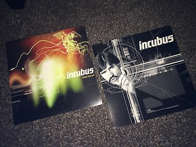 Incubus -Make Yourself[1999]Album Cover Art_TWO 2-side Promo Poster Flats
