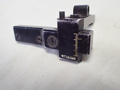 Williams receiver peep target 22 sight listed for Remington 550,  Stevens,Savage