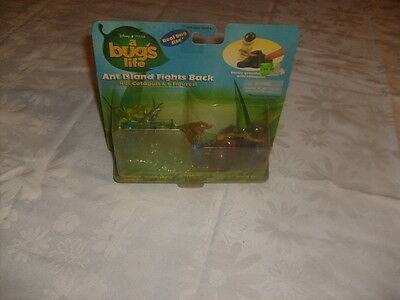 Disney A Bugs Life Ant Island Fights Back Nut Catapult Six Figures Toys Hopper